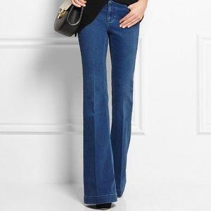 Stella McCartney The 70's Flare wide leg jeans 25
